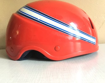 Fun Vintage Red Bicycle Helmet