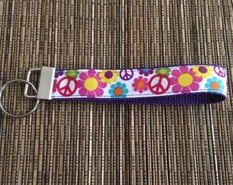 Key Fob - Peace