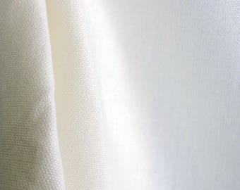 Kalahari Cream Linen Fabric