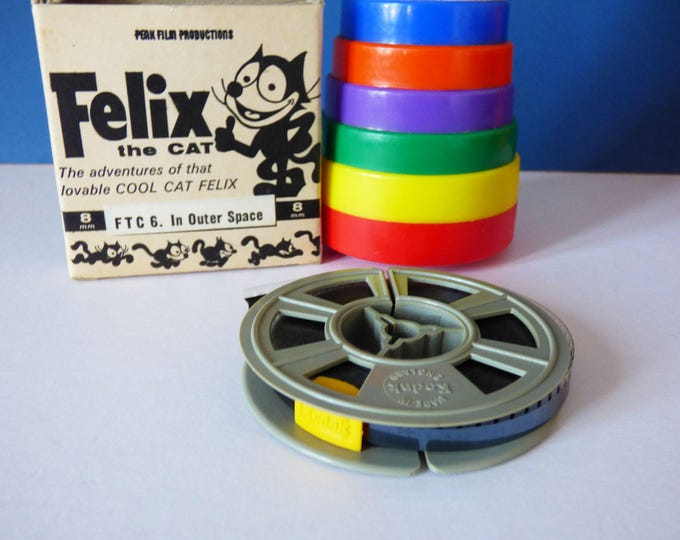 Felix the cat 8 mm Film Vintage Retro MCM