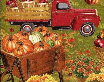 Autumn Bounty - Timeless Treasures - Fat Quarter