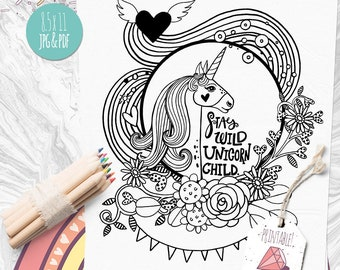 Dog Colouring Page set Printable Kids Coloring Book Pages