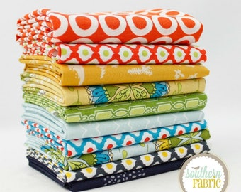"Bellisimo - Half Yard Bundle - 10 - 18""x44"" Cuts - by Mixed Designers Quilt Fabric"