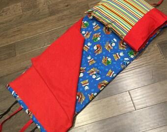 Kindermat Nap Mat Cover - Thomas Train