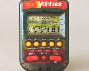 Milton Bradley Hand Held Electronic Yahtzee Game