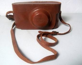 Vintage leather Argus 35mm film camera Case