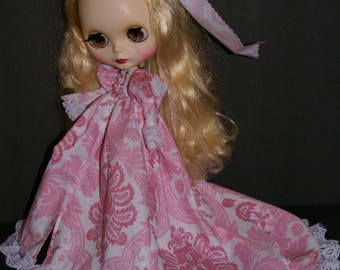 Crimson Peak Style Gown/Robe in Pink