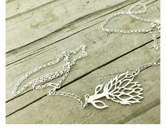 Protea Flower Pendants Necklaces, King Protea Sterling Silver Flower Necklace, Recycled Sterling Silver Protea Fynbos Flower Pendant Charm
