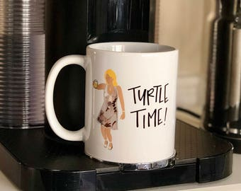 Turtle Time Housewives Mug, Housewives Gifts