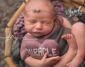 Posing pillow, newborn photo prop, miracle pillow, photo prop, miracle baby, miracle infant, rainbow baby, baby girl, baby boy, IVF baby