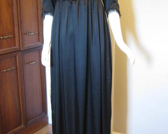 Black Regency Dress size 16