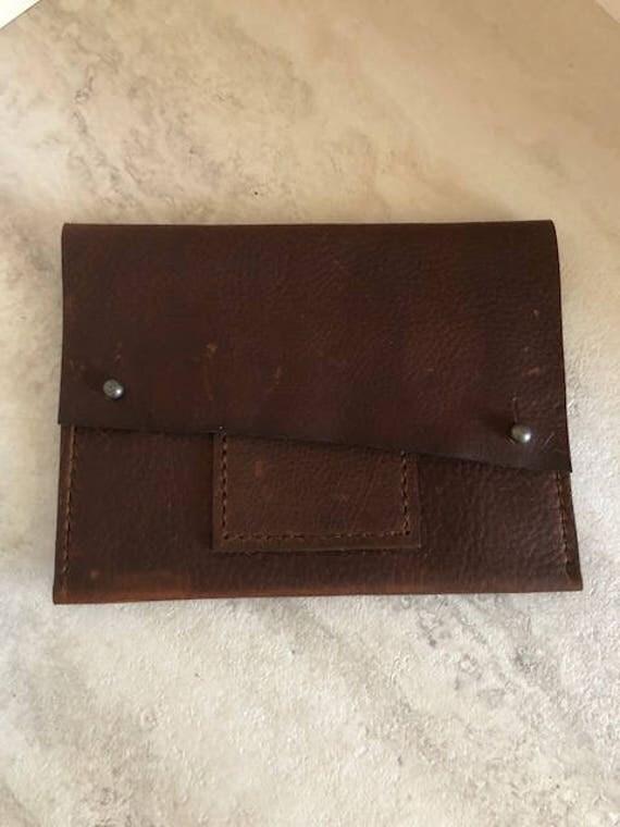 """Handmade Leather Bag, Small Leather """"Nina"""" Bag"""