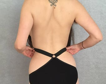 High Low Harness Panty
