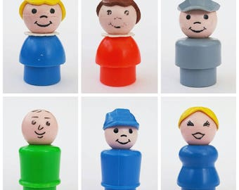 Individual Fisher Price little people