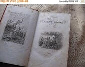 Antique Religious Book on Saint Louis Nordic French Cottage Chic Book Lovers