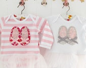 Ballet Shoes Tutu Bodysuit