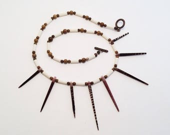 Sea Urchin Spears Necklace