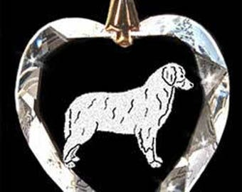 Berness Mt. Dog Jewelry Custom Crystal Necklace Pendant, Suncatcher with any Animal or Name YOU Want, Gift, Dog Lover, Handler, Trainer