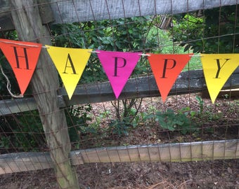 happy . birthday . banner . mom . dad . child . customize . party . decoration