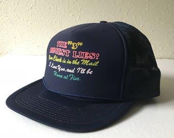Adjustable, Navy Blue, Mesh Snapback, Truckers Hat, Drinking Team, Beach Wear, Spring Break, Unisex Fashion