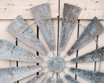 Full Windmill Wall Decor~Wind Mill~Windmill Wall Art~Farm House Decor~Rustic~Windmill Head~Industrial