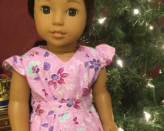 Replica Nanea school dress fits 18inch dolls