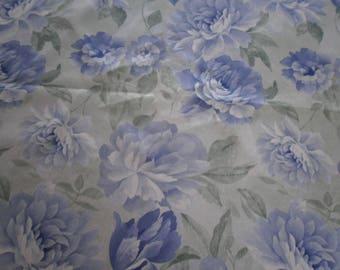 Fabric acrylic flowers (7)