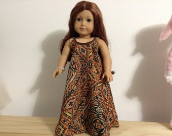 "Maxie halter dress for 18"" doll"
