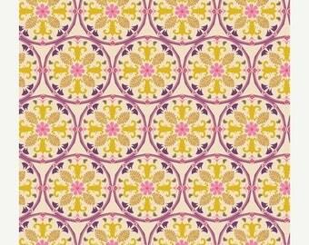 SALE 10% Off - Caravan Purple BOH-604 - Bohemian Soul - Art Gallery Fabrics - Patricia Bravo - By the Yard