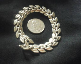 Vintage Sterling silver  Bracelet  linked chain