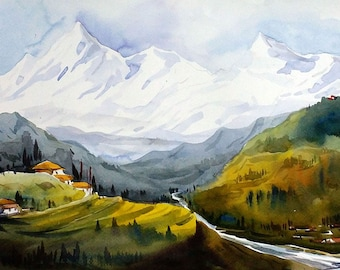 Beauty of Himalaya Landscape