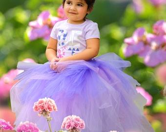 Lavender Tutu | Purple Tutu | Southern Belle Tutu | Purple Ombre Tutu | Lavender Ombre Tutu | Birthday Tutu | Tutu | Triple Layer Tutu