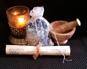 Healing Pyramid Candle Spell Kit -- Everyday Magick Spell Kit To Promote Healing With Pyramid Power!