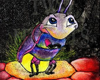 Lightning Bug Giclee Art Print