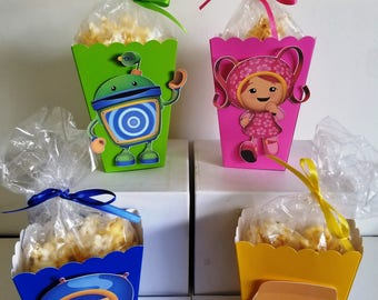 Team Omizoomi Snack Boxes - Set of 10