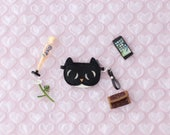 Kitty cat clutch purse for Blythe, Licca, Barbie dolls