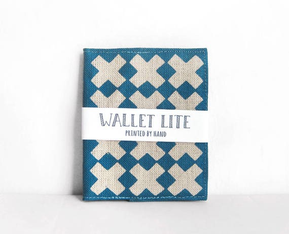 Slim Wallets for Him or Her Handprinted Billfold Wallets Wallet Women Slim Cross Pattern Portefeuille Wallet Thin Women's Wallet Olula Bills
