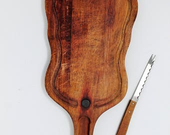 Vintage Kitchen.. Vintage Wooden Guitar Cutting Boards, Kitchen Ware, Cheese Plate