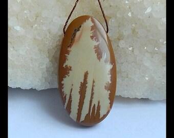 Orginal Owyhee Jasper Gemstone Pendant Bead,38x20x7mm,8.6g(l0816)