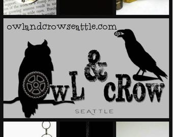 GIft Certificate - Give the gift of Owl & Crow Seattle