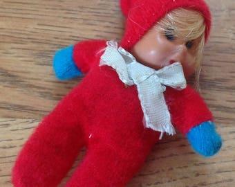 Miniature Dollhouse Doll