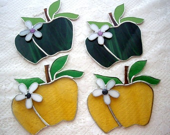 Stained Glass Apples/ Don't Sit Under the Apple Tree with anybody else but Me.