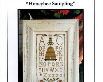 Little House Needleworks: Honeybee Sampling - Cross Stitch Pattern