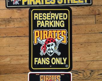 1997 MLB Pittsburgh Pirates signs set of 3