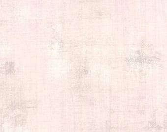 Fabric by the Yard -Grunge Basic in Ballet Slipper- by Basic Grey for Moda