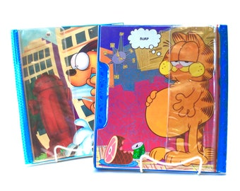 Garfield & Odie Trapper Keepers by Mead Pencil Pouch Organizer