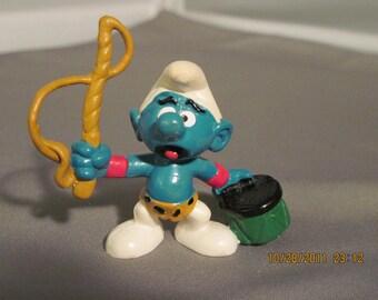 Vintage Lion Tamer Smurf..1979..Peyo...Hong Kong...Vintage Smurfs,Vintage Collectibles,Miniatures,Vintage Cartoon,Vintage Toys,Vintage Kids