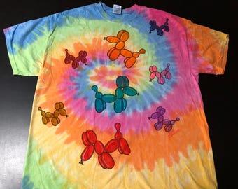 XL- Pastel Rainbow Dogs