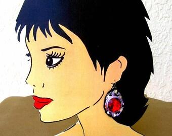 Earring Display model #9