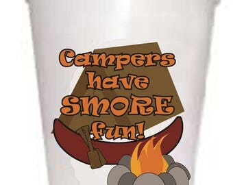 Campers Have Smore Fun   Styrofoam Cups 10ea/16oz